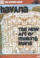 DVD cover of Havana: The New Art of Making Ruins